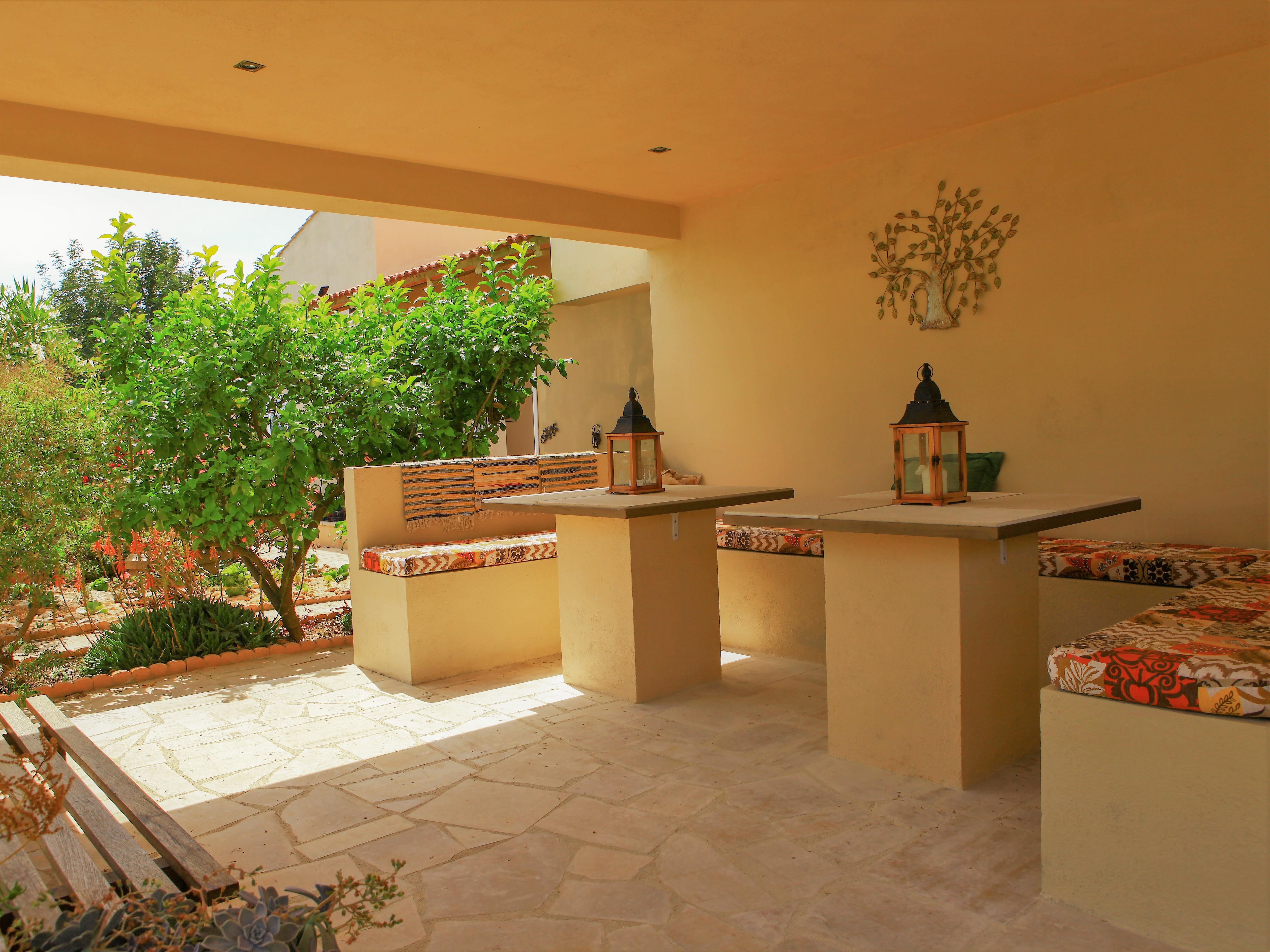 Terras bij Vakantiehuis Casa Espinal in Spanje, te huur via 123casitas